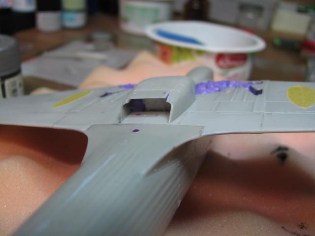 Hawker Hurricane Mk IId Trop 6 Sqn 1942 Hobbycraft 1/48.... Terminé! 548491IMG0979