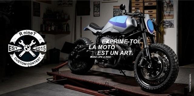 BMW Motorrad France lance le R nineT Custom Contest. 550725P90175802