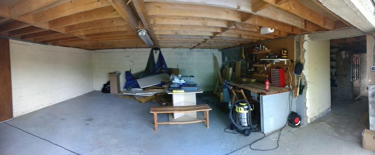 Faire d'un grand garage un atelier !  - Page 2 552622PANO20150628150444