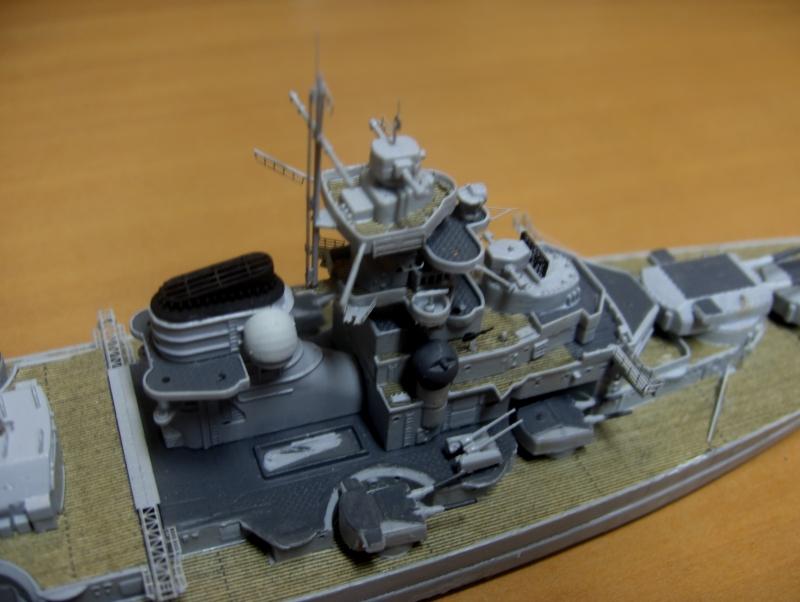 Bismarck 1/700 [Trumpeter] 553727HPIM2066