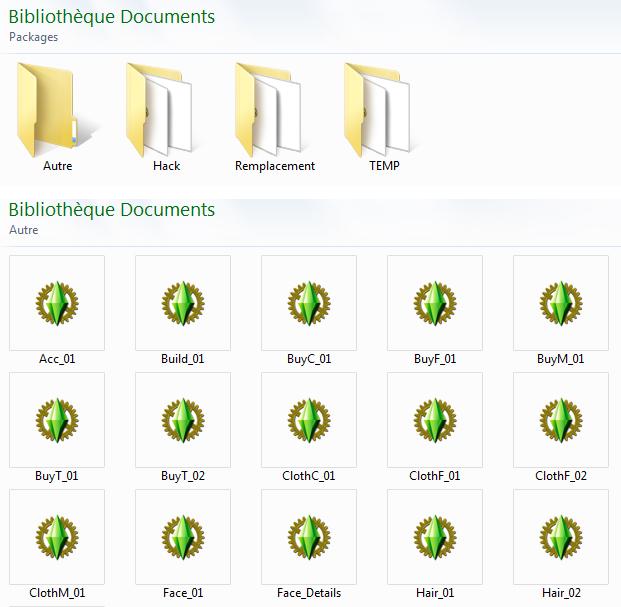 Compresser les fichiers .packages 554672tri