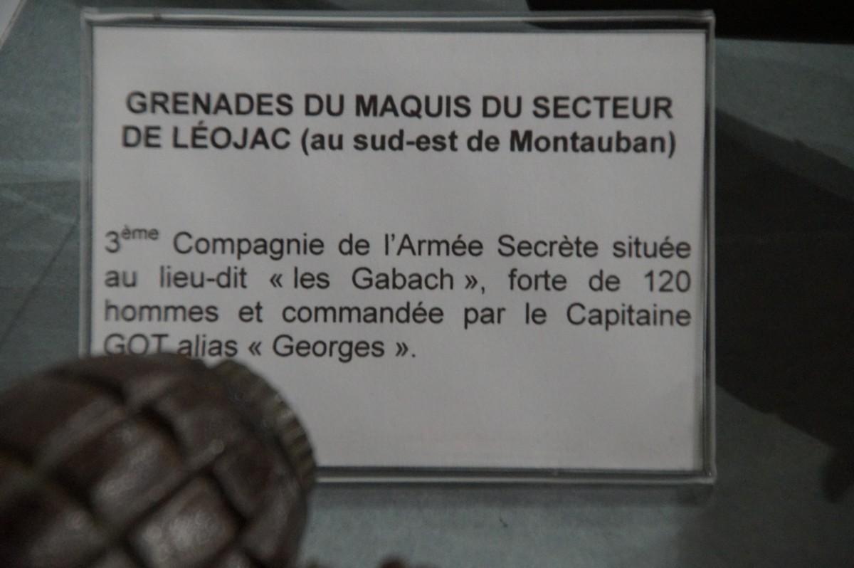 [ Histoire et histoires ] Musée de la résistance et du combattant à Montauban 555073DSC07584