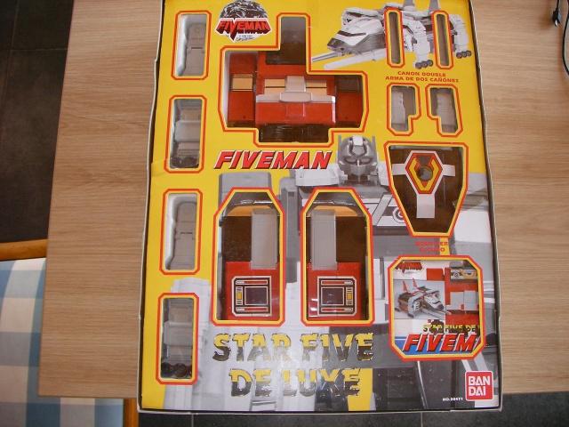 La gamme de jouets Fiveman - Bandai 555698SANY0008
