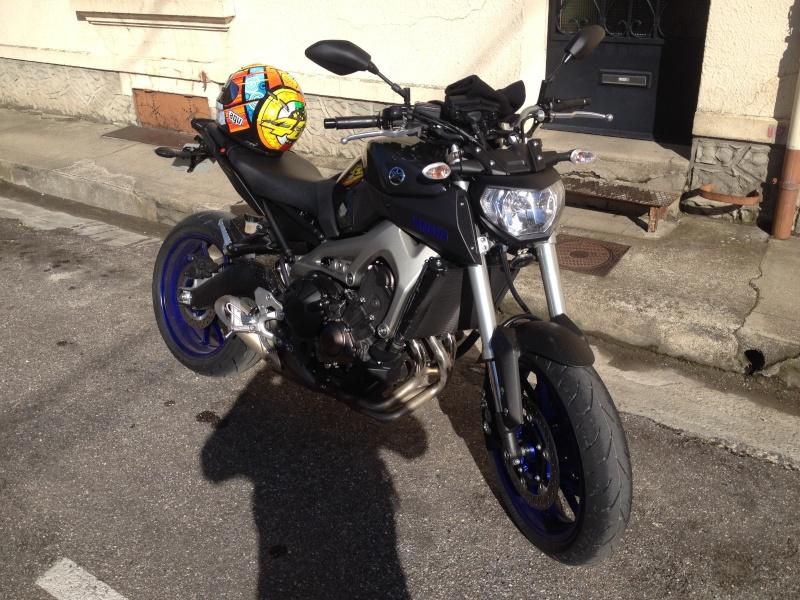 Photos de toutes les Yamaha MT-09 du forum ! :) 556128YVix21