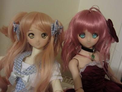 Moena et Mihili l'arrivée de deux soeurs [Dollfie dream] 556259Deuxsoeurs