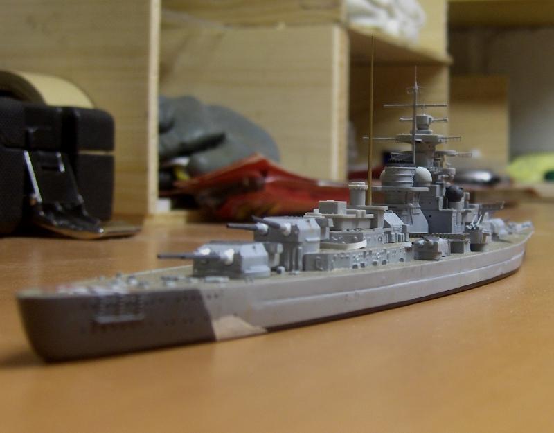 Bismarck 1/700 [Trumpeter] 556325HPIM2055