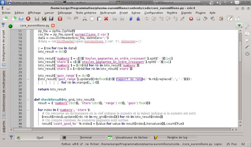[Python]Spyder, le super éditeur de code, et aide au debug 557932eric