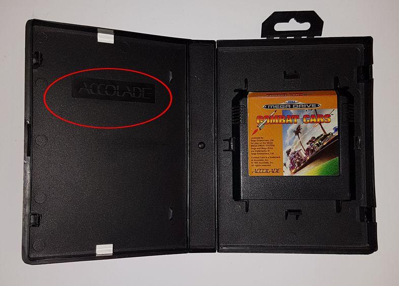 Les differents boitiers de jeux Megadrive 558449575
