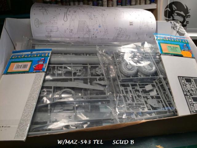 W/MAZ -543 TEL  SCUDB  maquette dragon 1/35 558698IMG4282