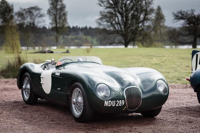 Jaguar Heritage Aux Milles Miglia 2015 Avec Des Modeles D'exception 559240JaguarCtypeNDU289Image12051503