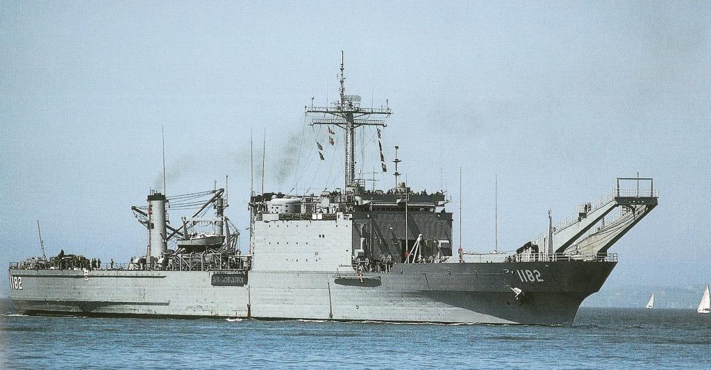 LANDING SHIP TANK (LST) CLASSE NEWPORT  560253USSFresnopremireimage