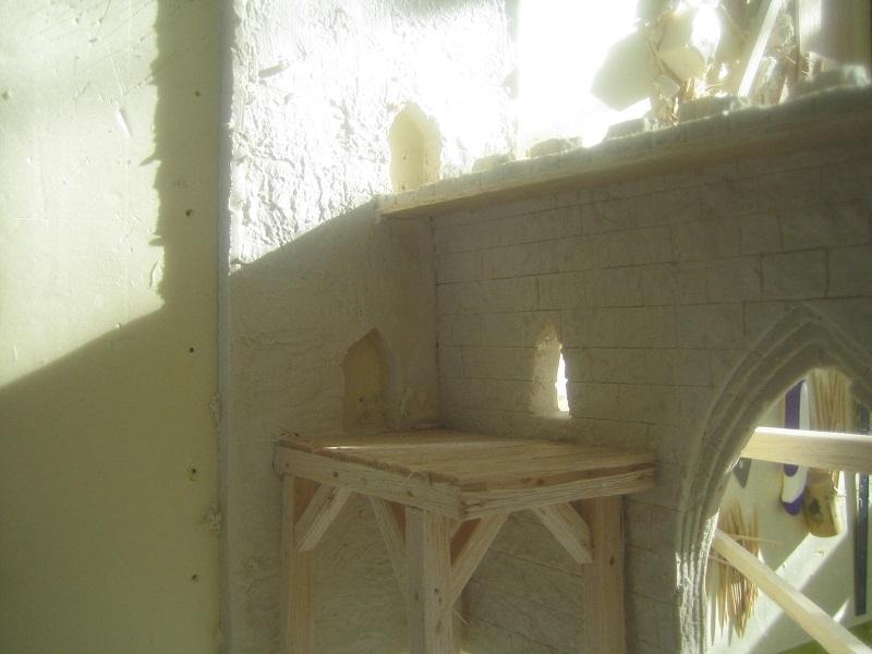 [Tuto] Remparts en plâtre - Moule en polystyrène 560606TECMordheim39