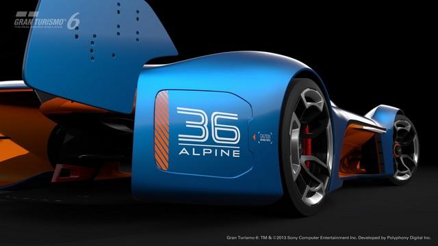 Alpine Vision Gran Turismo : bientôt sur l'écran de votre salon 5620276529816