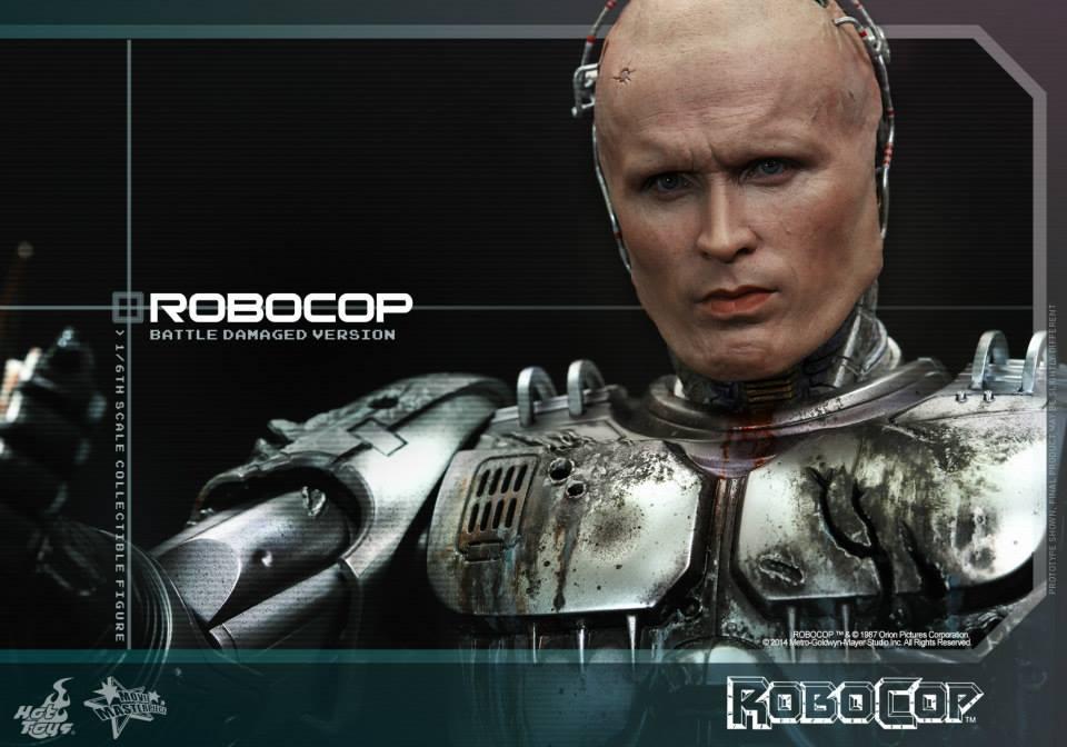 HOT TOYS - Robocop - Robocop (Battle Damaged Version) 563368114