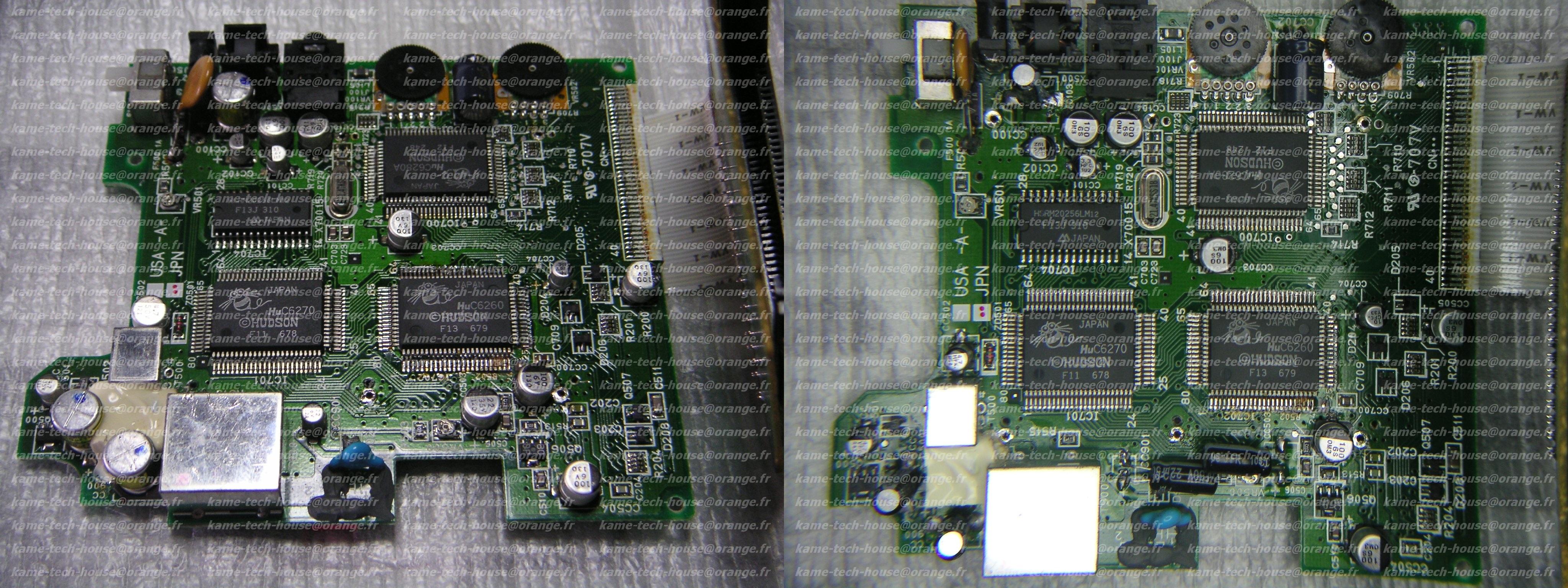 NEC PC ENGINE GT problème d'allumage 564281AVAPGT