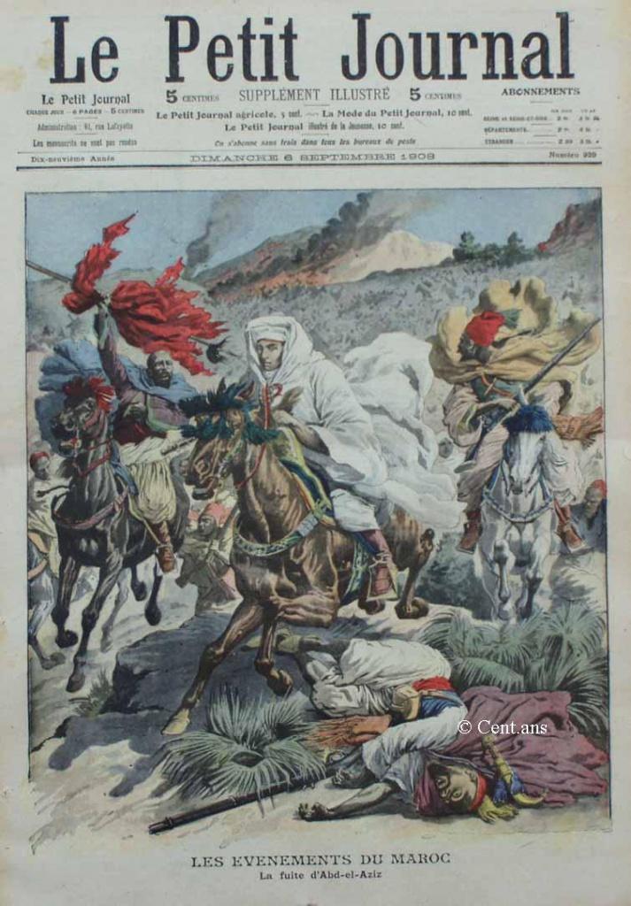 صفحات من تاريخ المغرب الحديث من خلال Le Petit journal illustré 564726pj92906091908