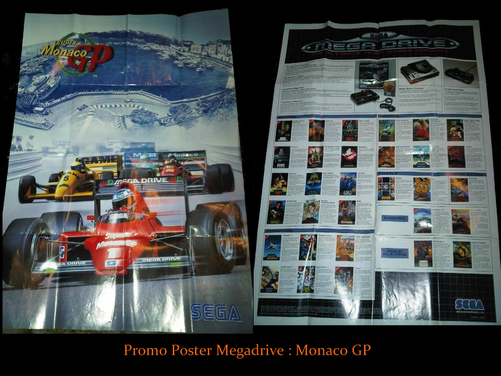 Les posters Megadrive 565113PROMOPOSTERMD1MGP