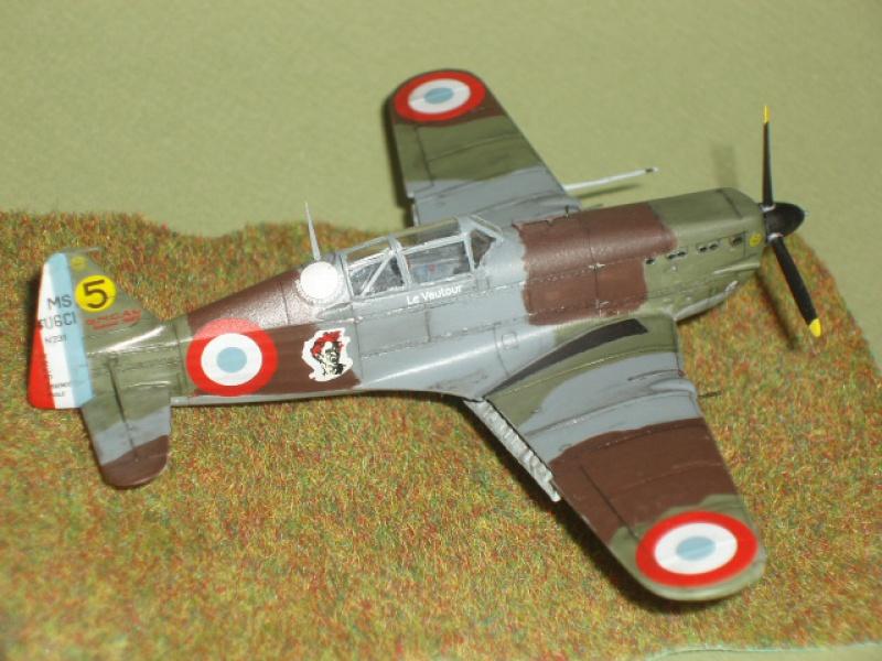 [AZUR] Morane Saulnier MS 406 au 1/72. 567247P1010469