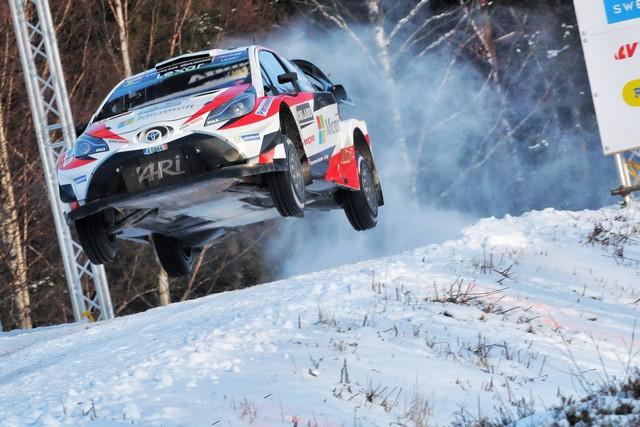 Jari-Matti Latvala Gagne En Suède Avec La Yaris WRC Et Prend La Tête Du Championnat Du Monde 567321RO20170021228