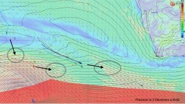 L'Everest des Mers le Vendée Globe 2016 - Page 5 568613previsionatlantiquesudpourle2decembrer360360