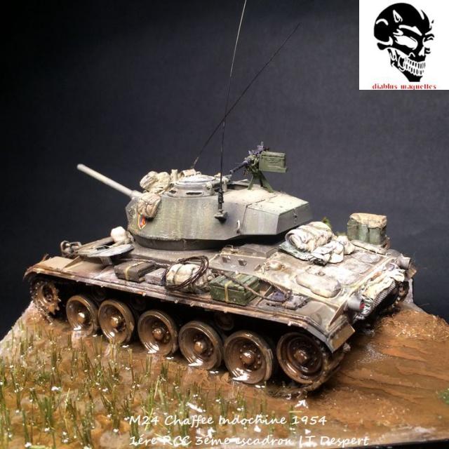 M24 Chaffee light tank, AFV Club 1/35 - Page 4 571227IMG3678