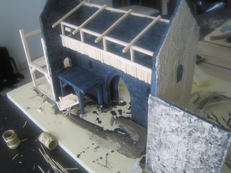 [Tuto] Remparts en plâtre - Moule en polystyrène 572154TECMordheim51