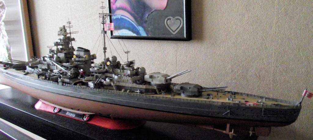 Tirpitz Revell au 1/350° 573389TipitzRevell1x3506