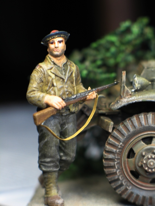 M3 Scout Car - Zvezda 1/35 574280modles31034