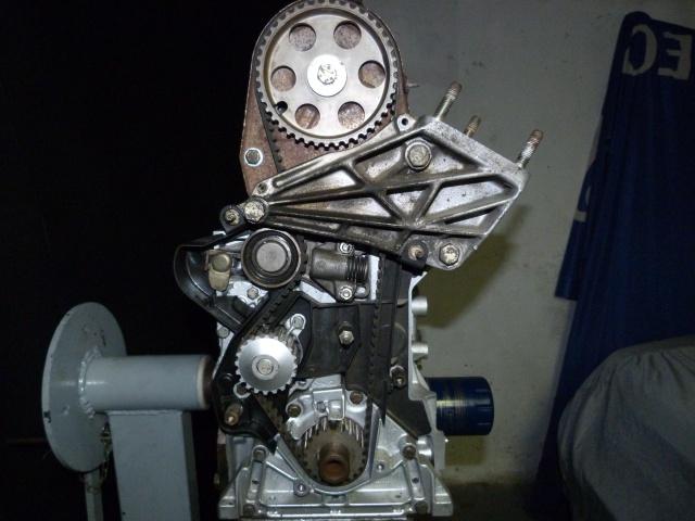 TUTO , remplacement kit distribution et pompe a eau 575625P1130853