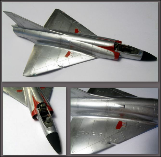 MIRAGE lll c   Airfix   72°  575814Capturerm312