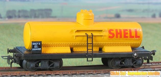 Wagons à bogies série plastique (citerne, tombereaux, couverts)  576131VBciternebogiesplastjauneShellIMG3433R