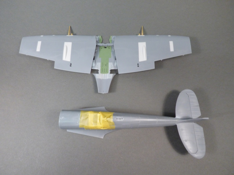 [TAMIYA] SUPERMARINE SPITFIRE MK IX INDOCHINE 1948 1/32ème Réf 60320 580274P1010133