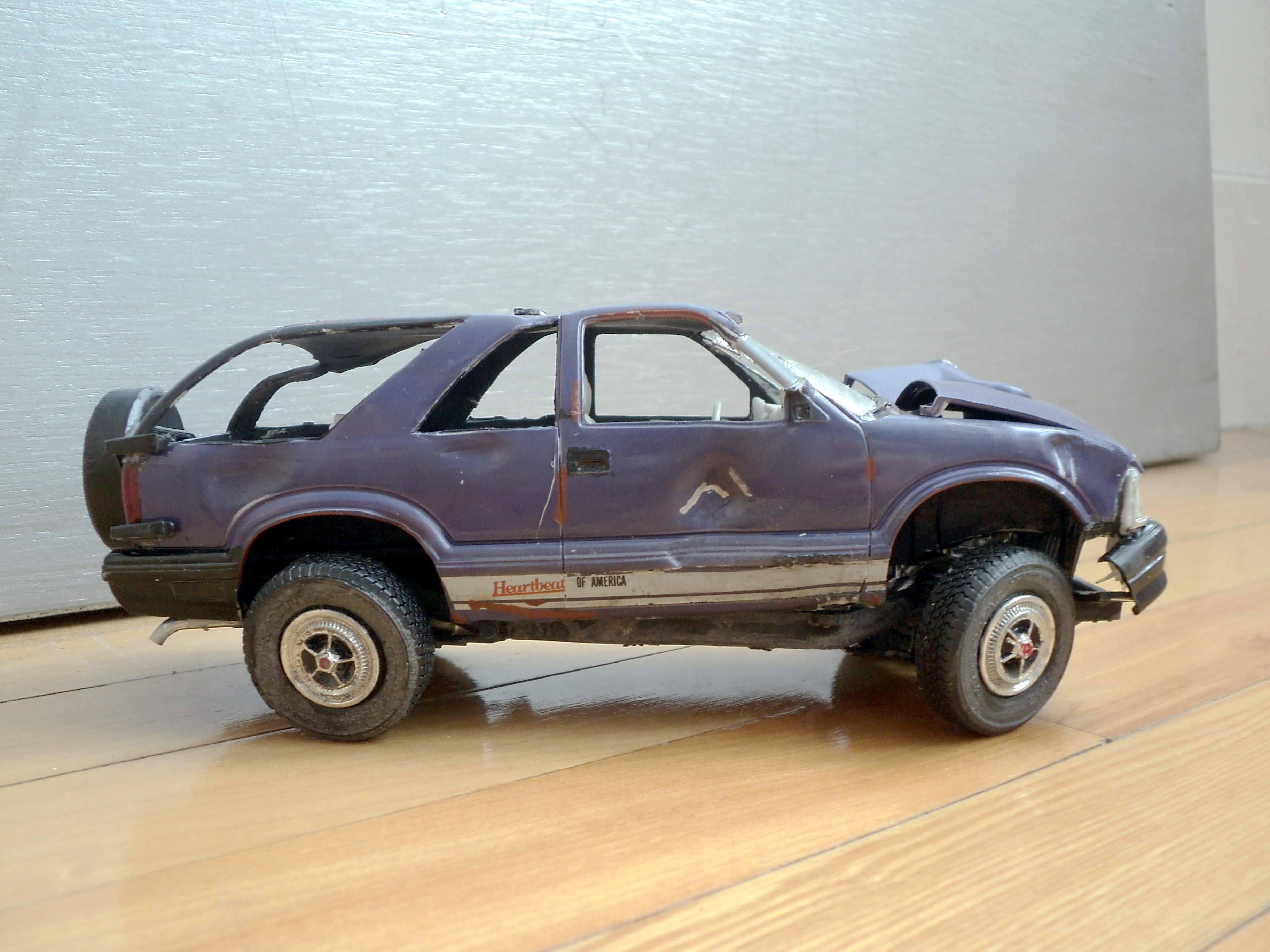 Chevrolet Blazer Capotage 5820061996Jimmyaccidenteno3