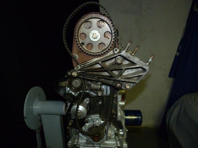TUTO , remplacement kit distribution et pompe a eau 583562P1130865