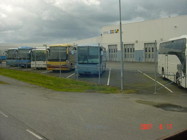 Volvo bus chez Aral 583860zzz9050