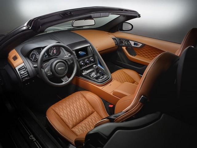 Nouvelle Jaguar F-TYPE SVR : La Supercar Capable D'atteindre 322 km/h Par Tous Les Temps 583944JAGUARFTYPESVR54CONVERTIBLEStudioInteriorLowRes