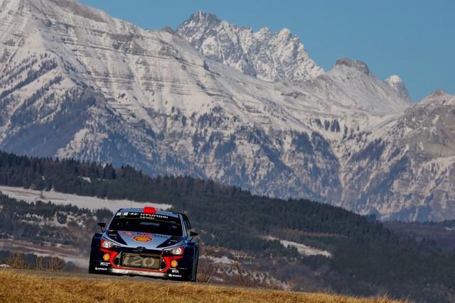 Rallye Monte Carlo Une Victoire En Power Stage pour Consoler Hyundai Motorsport  58588615202017montecarlorm013