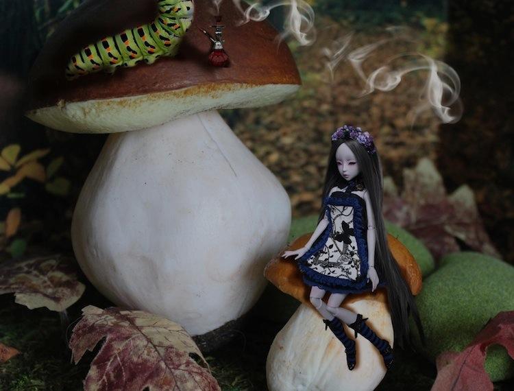 Nymeria (Sixtine Dark Tales Dolls) nouveau make-up p8 586459Alyssiaetchenillechampimousse2