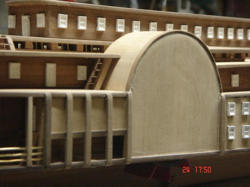 Bateau vapeur Robert E. Lee 1866 (Constructo 1/48°°) de Henri 586585DSC06803