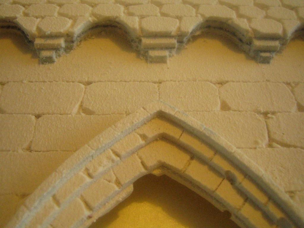 [Tuto] Remparts en plâtre - Moule en polystyrène 588241TECMordheim37