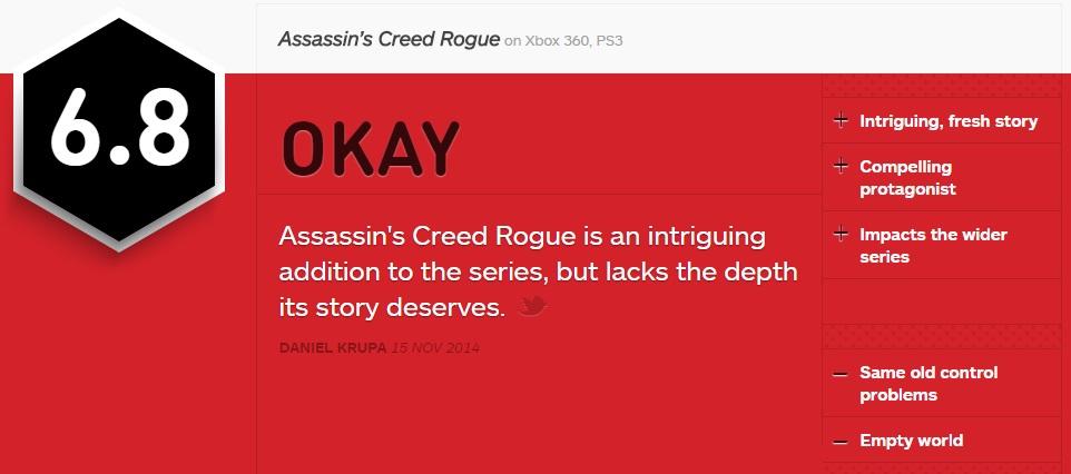 Assassin's Creed Rogue 590729acign