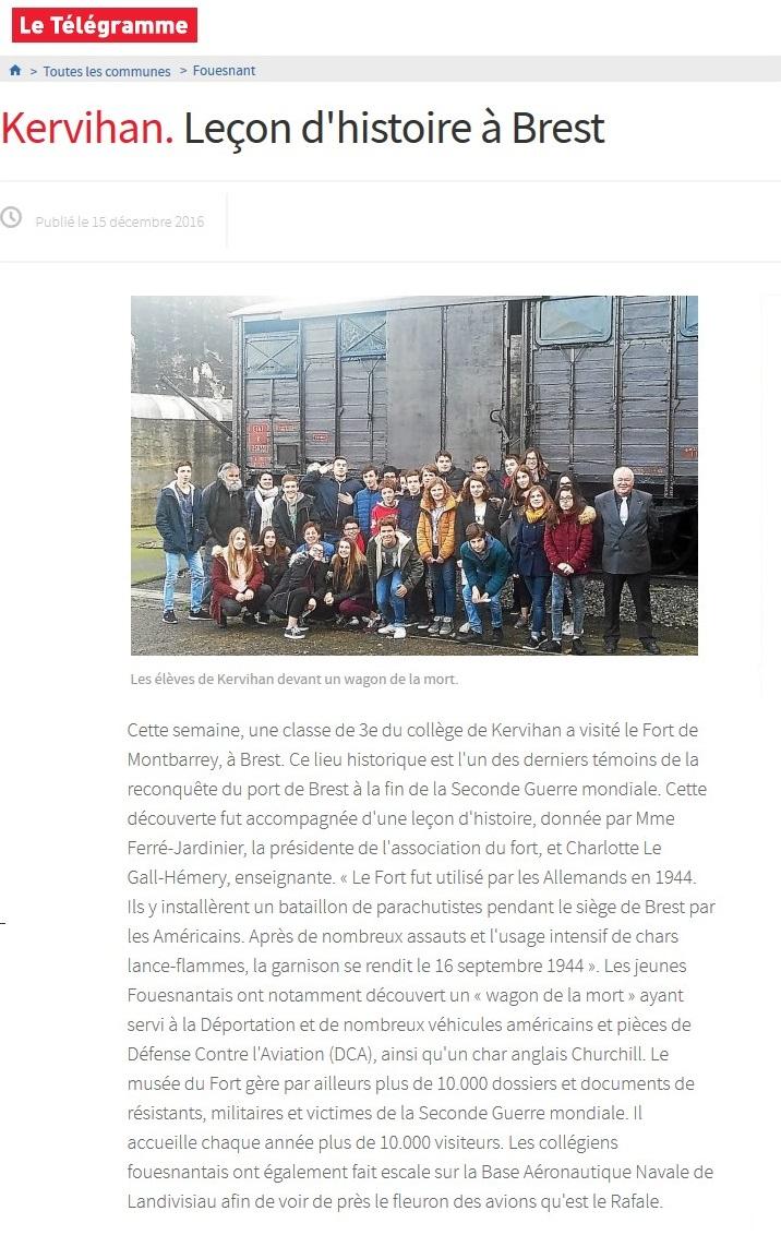 [ Histoires et histoire ] LE FORT DE MONTBAREY À BREST - Page 2 593150861