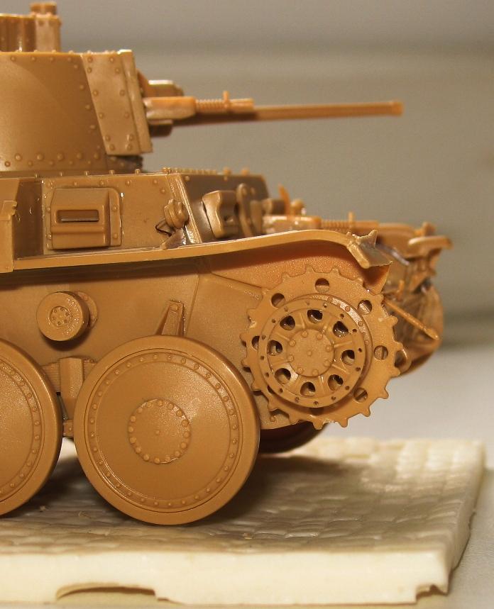 panzer Kpfw 38 t ausf F Tristar 1/35 594107modles109006