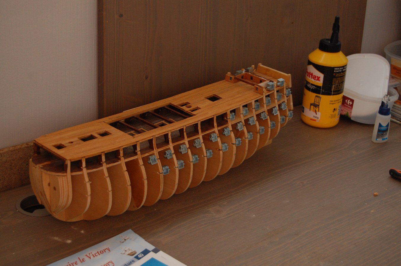HMS Victory Kit Del prado, Echelle 1/100 595051Victory1Copier