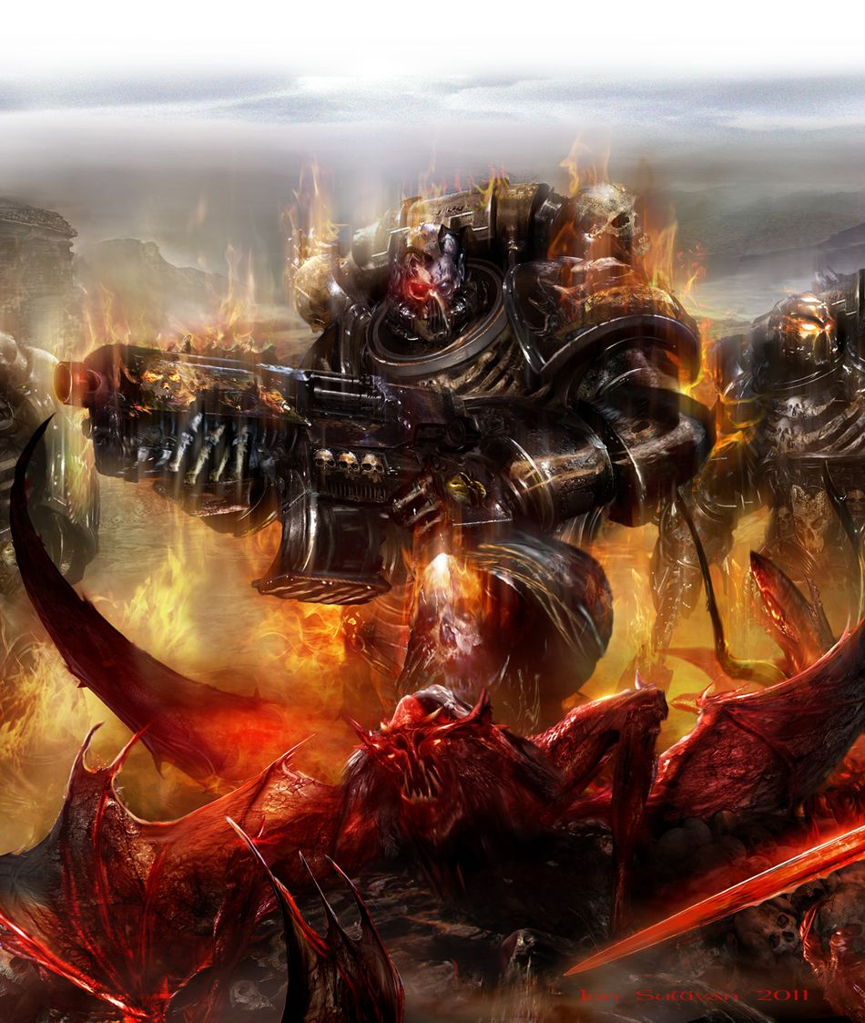 [Space Marine Battles] Legion of the Damned de Rob Sanders 5955582011LOTD8