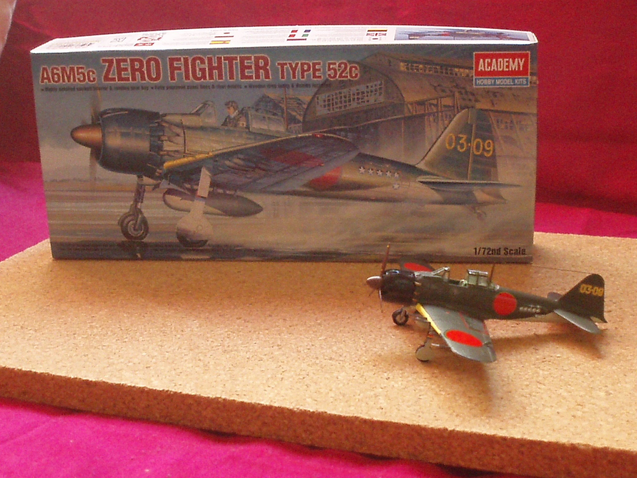 A6m5c ZERO FIGTHER (ACADEMY) 595775Photo052