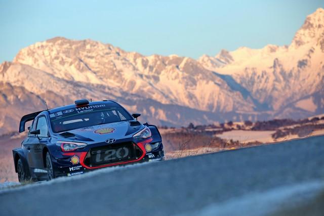 Rallye Monte Carlo Une Victoire En Power Stage pour Consoler Hyundai Motorsport  59606815132017montecarlorm008