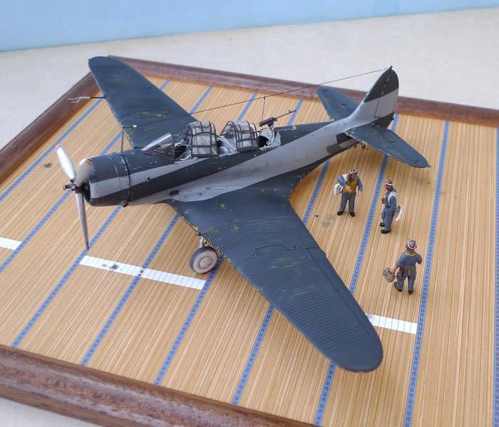 [Airfix] Douglas Devastator TBD1 CV8 USS Hornet Midway 596770Devastator102
