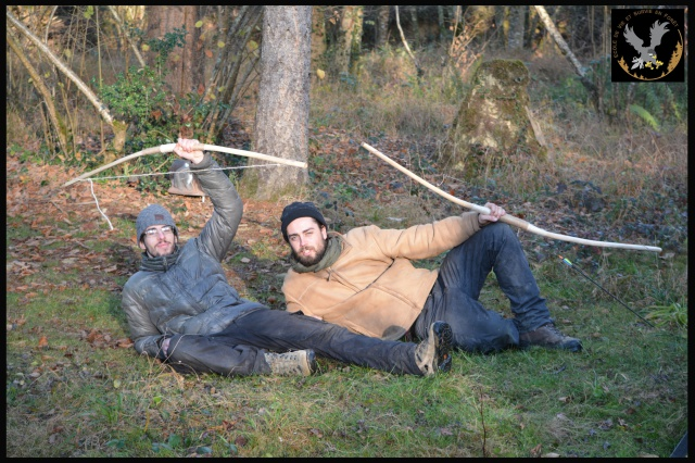 CR : Week end du bushcraft ARCHERIE - 2/6 décembre 2015 597822photogroupestagearcheriesurviejohncevsfstagiaires1