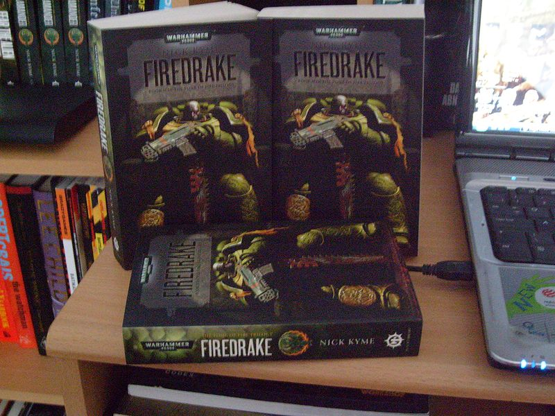 Firedrake - Tome 2 de La Trilogie du Tome de Feu 598012firedrake2